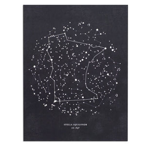 "Minnesota Constellation 8.5"" x 11"" Print"