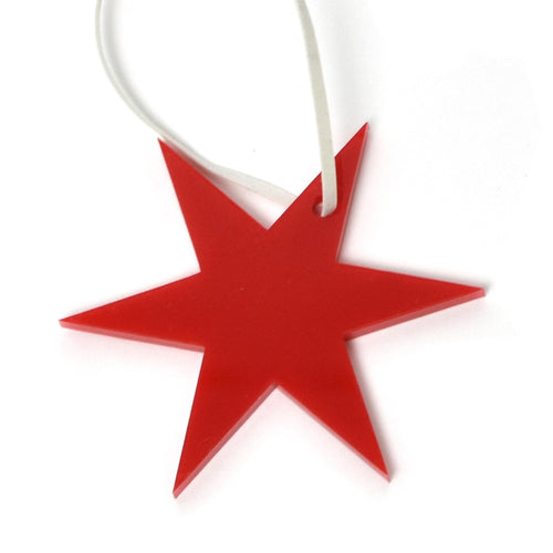 Chicago Star Acrylic Ornament