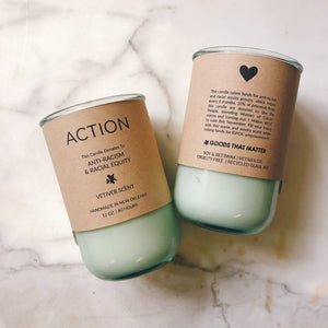 Candles For Good Soy & Beeswax Candle