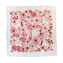 Thinking of You Floral Kitchen Tea Towel