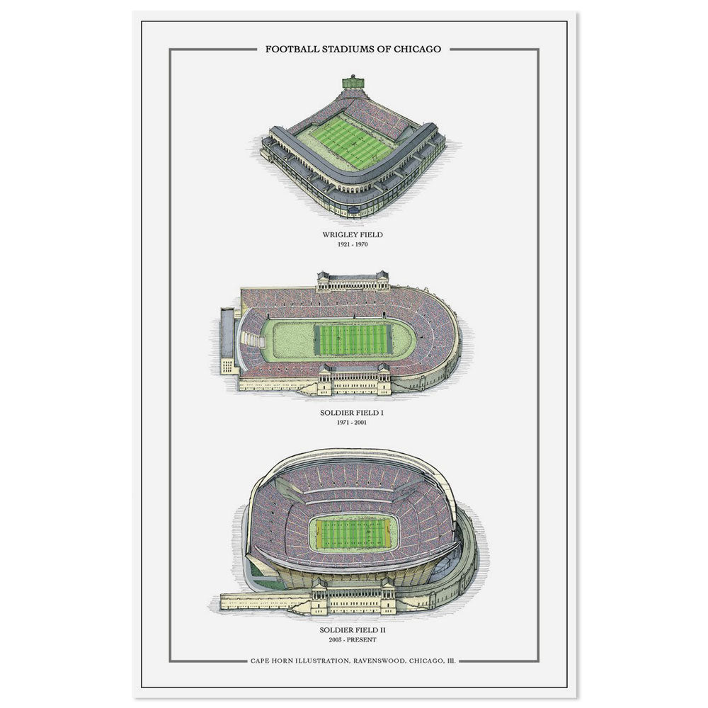 Football Stadiums of Chicago 11