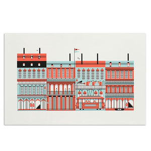 "New Orleans American Spaces 11"" x 17"" Print"
