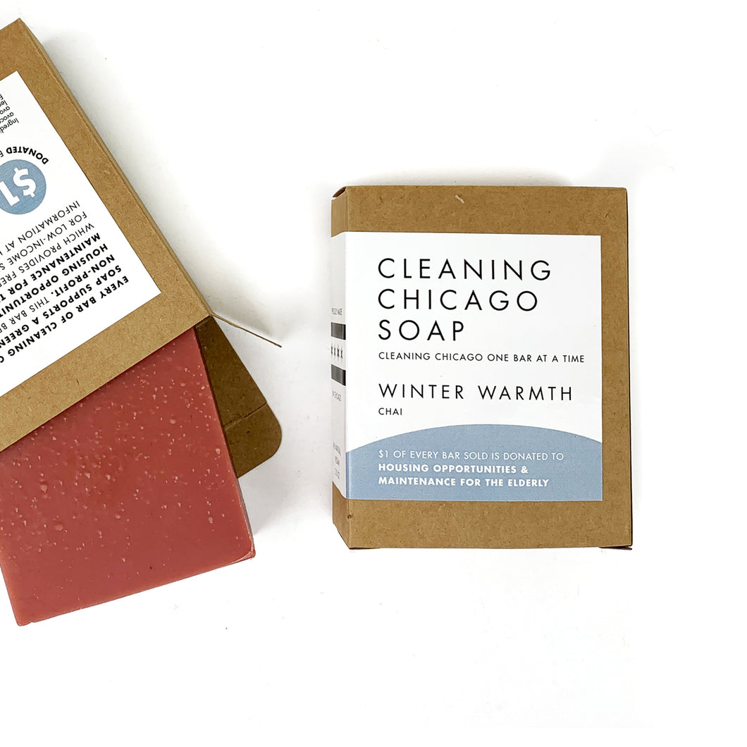 Cleaning Chicago Winter Warmth Chai Soap