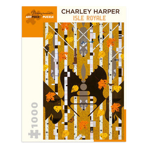 Charley Harper Isle Royale 1000 Piece Jigsaw Puzzle