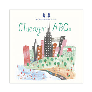 Chicago ABC's Baby Board Book