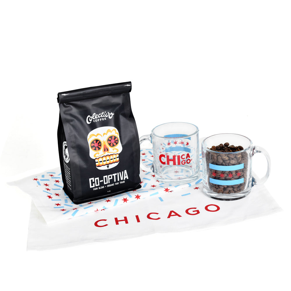 Chicago Coffee Lover Gift Set
