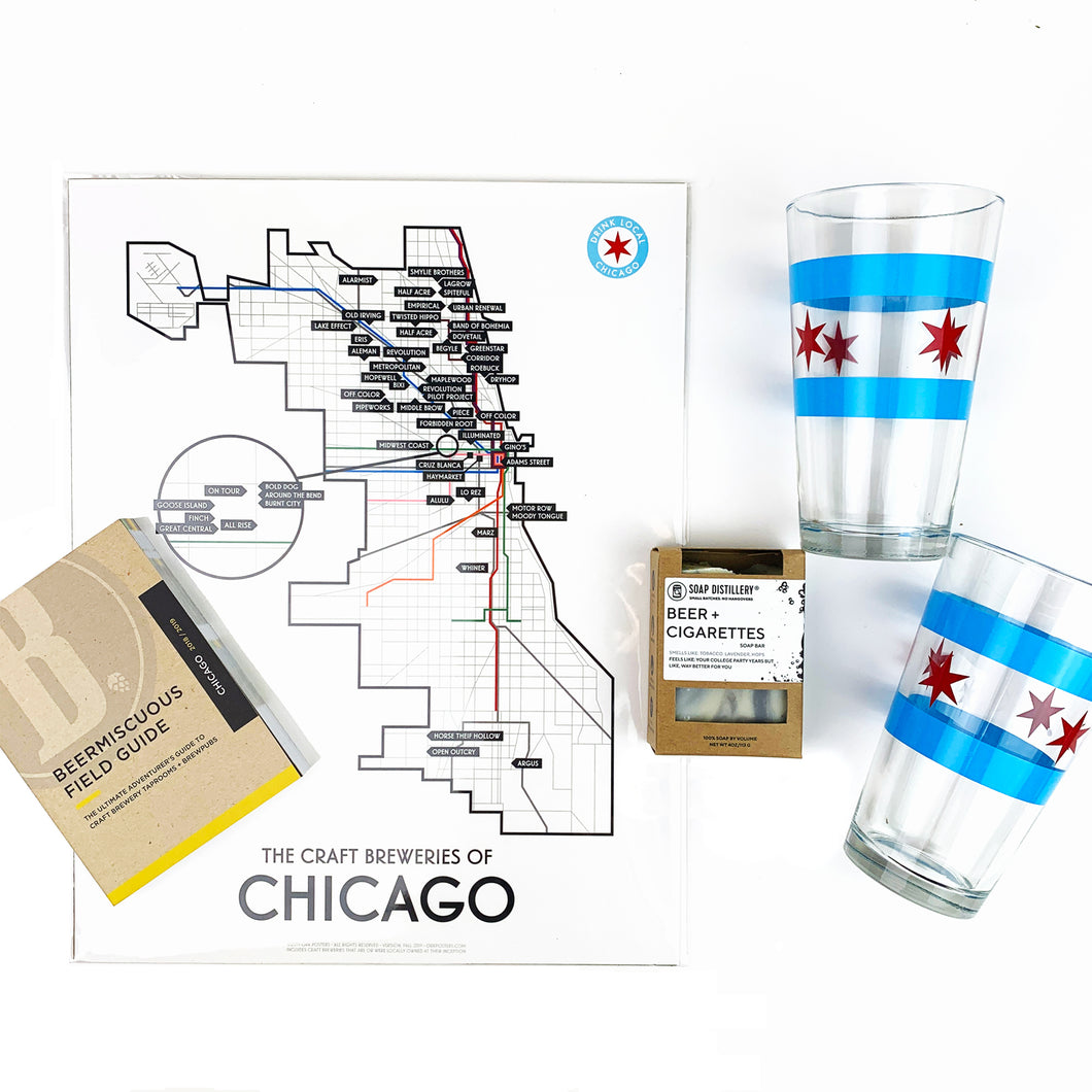 Chicago Craft Beer Drinker Gift Box