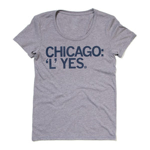 Chicago 'L' Yes Tshirt