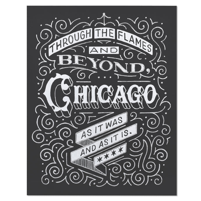 Chicago Fire Typographic 11