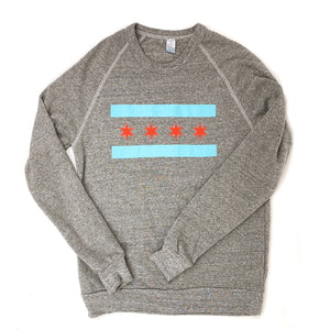Chicago Flag Unisex Crew Sweatshirt