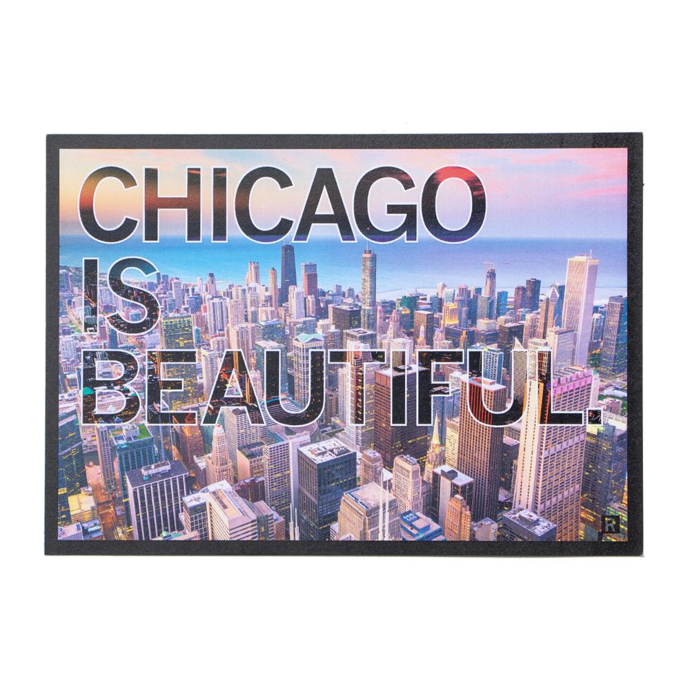 Chicago is Beautiful Photo Postcard