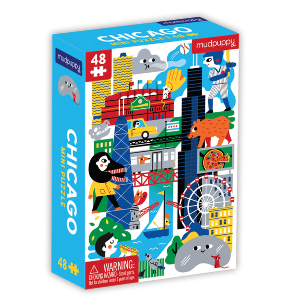 Chicago Kid's 48 Piece Puzzle