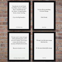 "Chicago Barack Obama Quote 9"" x 12"" Screen Print"