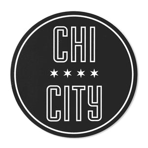"Chi City Chicago 3"" Circle Sticker"