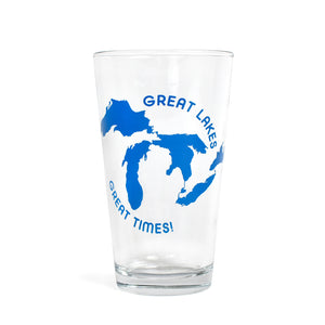 Great Lakes Great Times Pint Glass