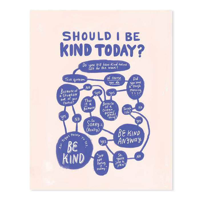 Should I Be Kind Today Flowchart 8