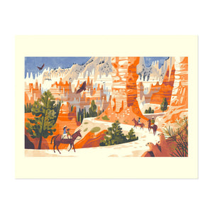 "Bryce Canyon National Park 11"" x 14"" Giclée Print"
