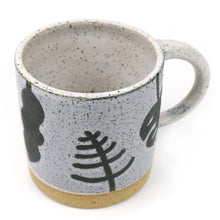 Flora Speckled Wheel Thrown Mug