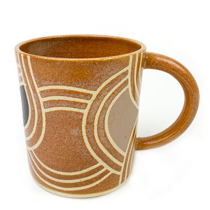 Desert Tan Wheel Thrown Ceramic Mug