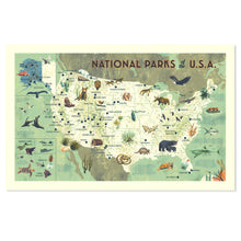 "National Parks of the USA 16"" x 24"" Giclée Print"