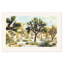 "Joshua Tree National Park 18"" x 27"" Silkscreen Print"