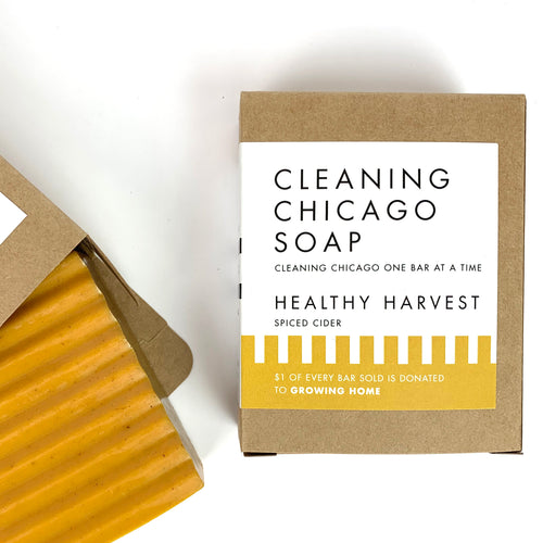 Cleaning Chicago Healthy Harvest Spiced Cider Soap