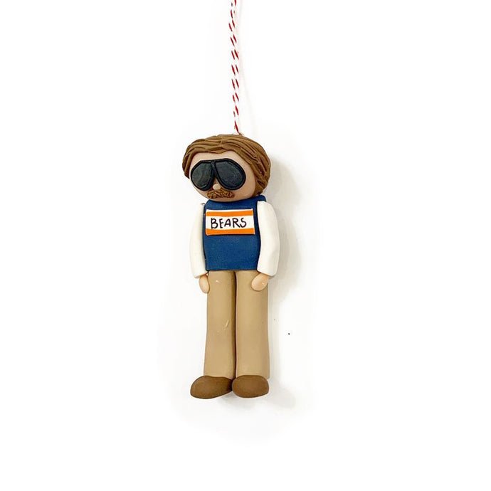 Coach Ditka Chicago Bears Ornament