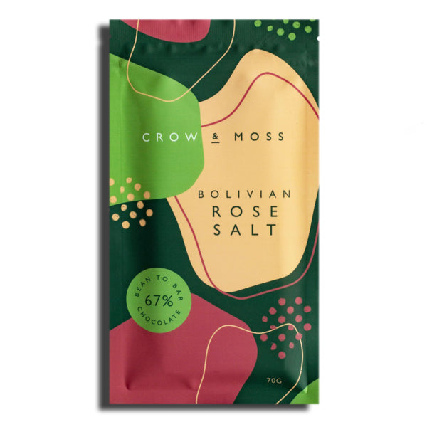 Small Batch Bolivian Rose Salt Chocolate