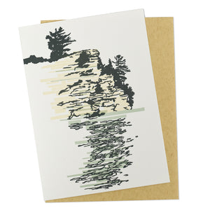 Starved Rock State Park Letterpress Card