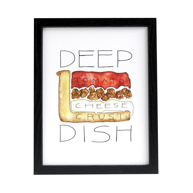 Chicago Deep Dish Pizza Diagram 8.5