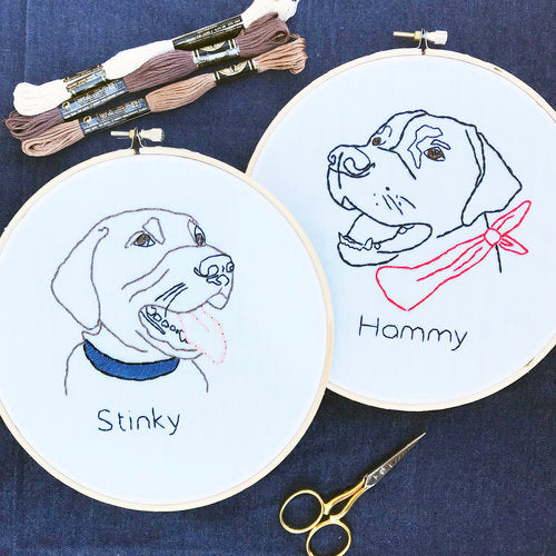 Sat, July 20th - Pet Embroidery with J. Villa Workshop