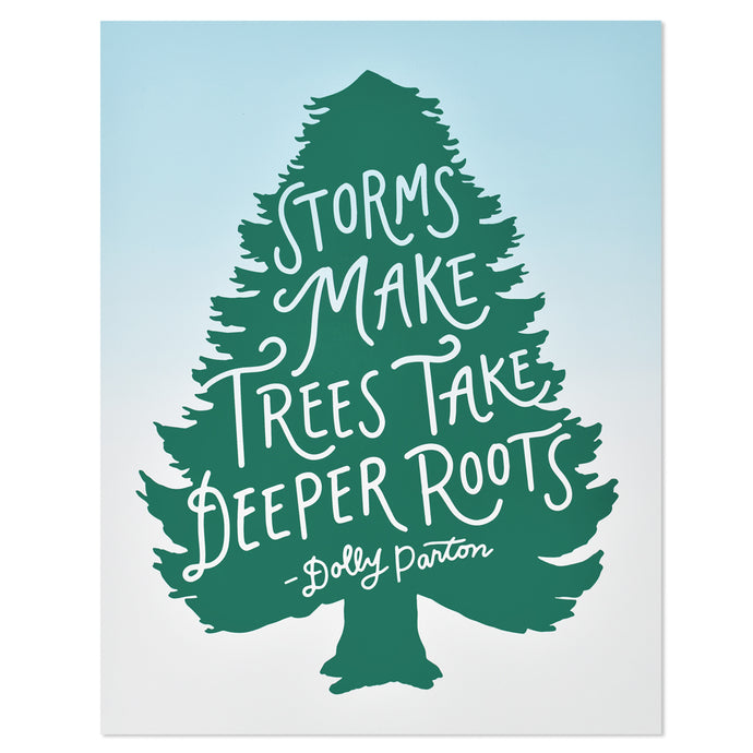 Dolly Parton Deeper Roots Typographic 11