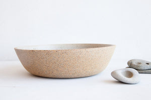 "Dune Natural Clay 9.5"" Serving Bowl"