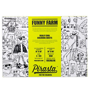 Funny Farm Coloring Sheets