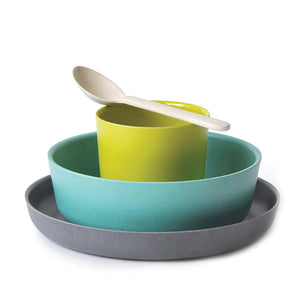 Bamboo Kids Dishes Set