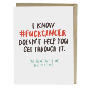 F*** Cancer Get Well Card