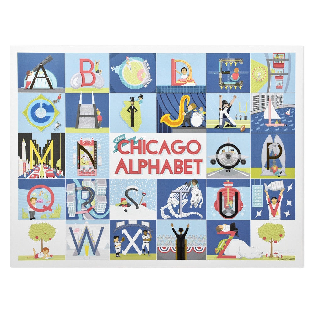 Chicago Alphabet 13