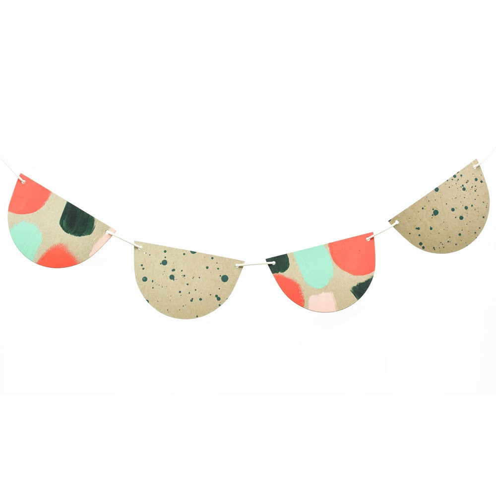 Holiday Dots Bunting