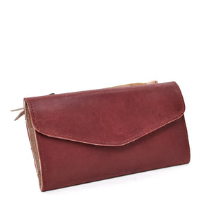 Hailu Leather Wallet with Coin Purse