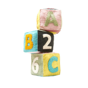 Felt ABC Blocks (Set of 3)