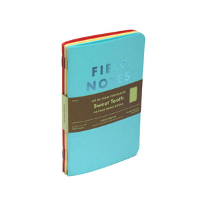 Field Notes Sweet Tooth Memo Notebooks (Set of 3)