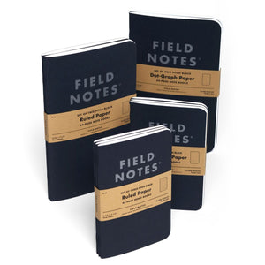 Field Notes Pitch Black Medium Notebooks (Set of 2)