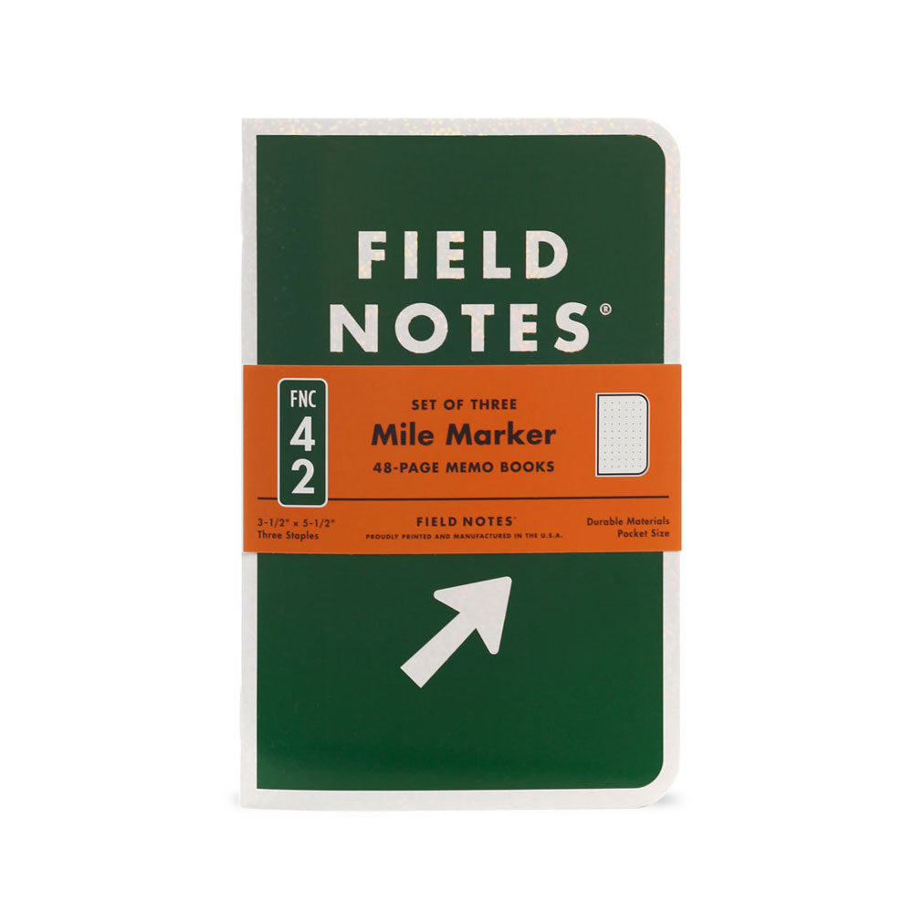 Field Notes Mile Marker Edition (Pack of 3)
