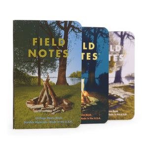 Field Notes Campfire Edition Notebooks (Set of 3)