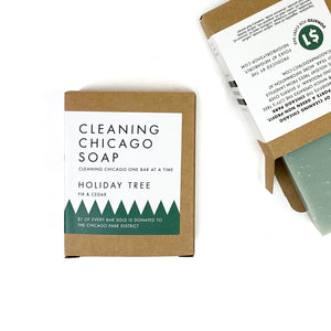 Cleaning Chicago Holiday Tree Fir & Cedar Soap