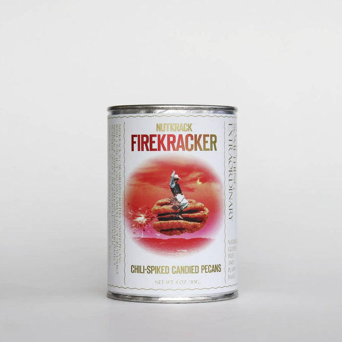 Firecracker Chili-Spiced Candied Pecans 4 oz Can