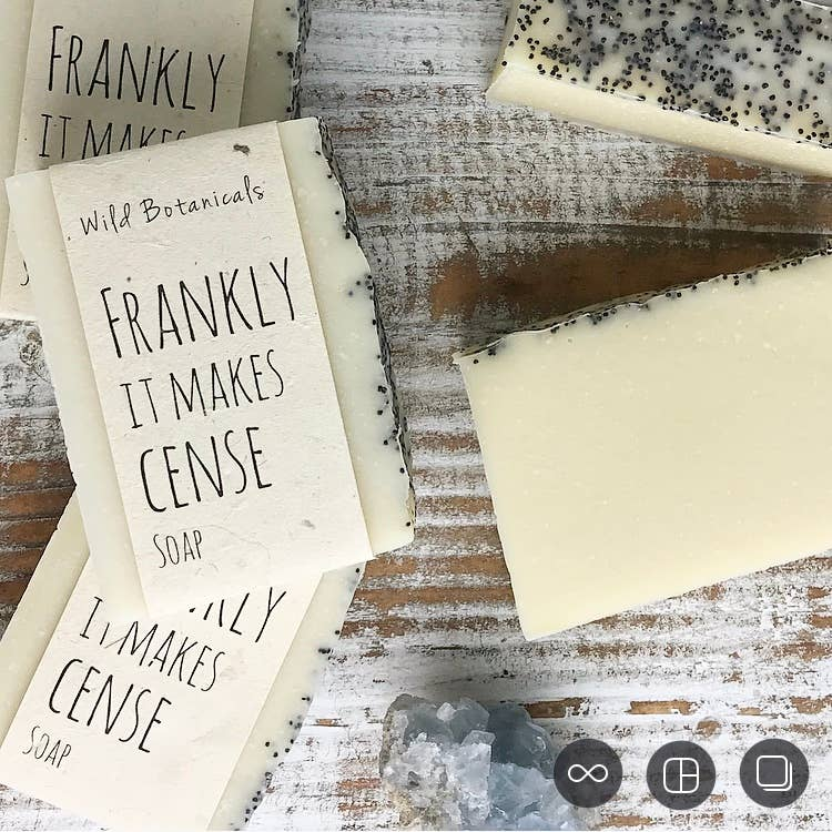 Frankly It Makes Cense Frankincense Soap Bar