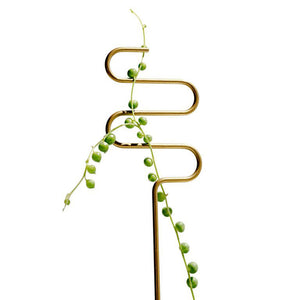 Solid Brass Plant Sticks (Set of 3)