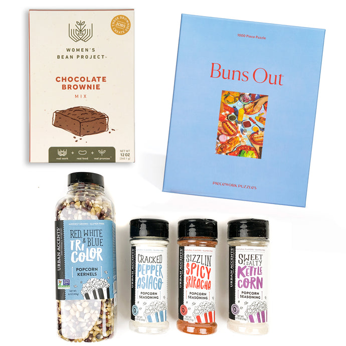 Puzzle Game Night Gift Package