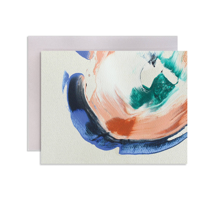 Geode Hand-Painted Stationery Set (Box of 6)